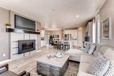 Model Home by Classic Homes in Flying Horse